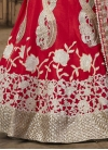 Deserving Silk Booti Work A Line Lehenga Choli - 1