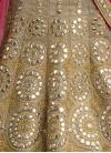 Dignified Lace Work Designer A Line Lehenga Choli - 1