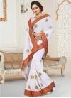 Faux Georgette Trendy Classic Saree - 1
