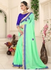 Faux Chiffon Traditional Designer Saree - 1