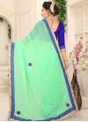 Faux Chiffon Traditional Designer Saree - 2
