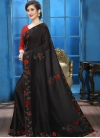 Crystal Work Contemporary Style Saree For Ceremonial - 2