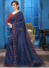 Art Silk Contemporary Saree - 2