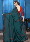 Crystal Work Trendy Designer Saree - 2