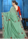 Crystal Work Traditional Saree For Ceremonial - 2