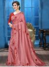 Art Silk Crystal Work Traditional Designer Saree - 1