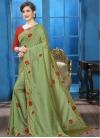 Crystal Work Designer Traditional Saree - 2