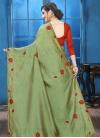 Crystal Work Designer Traditional Saree - 1