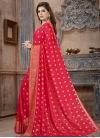 Banarasi Silk Crystal Work Trendy Classic Saree - 2