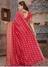 Banarasi Silk Crystal Work Trendy Classic Saree - 1