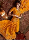 Embroidered Work Traditional Designer Saree - 1