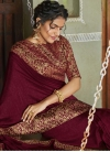 Woven Work Traditional Designer Saree - 1