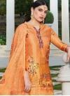 Digital Print Work Palazzo Style Pakistani Salwar Suit - 1