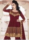 Faux Georgette Sharara Salwar Kameez - 2