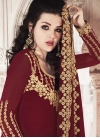 Faux Georgette Sharara Salwar Kameez - 1