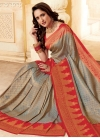 Woven Work Silk Trendy Classic Saree - 1