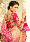 Embroidered Work Banarasi Silk Designer Contemporary Style Saree - 2