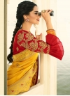 Embroidered Work Traditional Saree For Bridal - 1