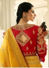 Embroidered Work Traditional Saree For Bridal - 2