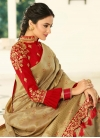Contemporary Style Saree - 1