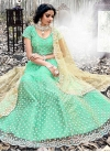 Embroidered Work Net Trendy A Line Lehenga Choli - 1