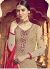 Brasso Georgette Palazzo Style Pakistani Salwar Suit - 1