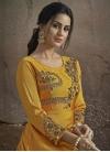 Tafeta Silk Readymade Long Length Gown For Ceremonial - 1