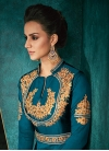Tafeta Silk Readymade Classic Gown For Ceremonial - 1