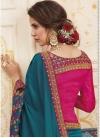 Chanderi Silk Designer Contemporary Saree For Ceremonial - 1
