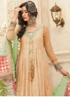 Embroidered Work Long Length Salwar Suit - 1