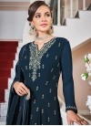 Faux Georgette Embroidered Work Readymade Designer Suit - 1