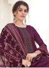 Cotton Patiala Salwar Kameez - 1