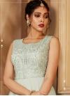 Faux Georgette Readymade Anarkali Salwar Suit - 1