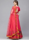 Satin Silk Embroidered Work Trendy Lehenga Choli - 1