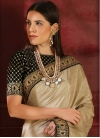 Lace Work Trendy Classic Saree For Ceremonial - 1