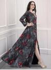 Pasmina Cutdana Work Readymade Long Length Gown - 1