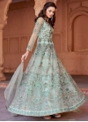 Embroidered Work Long Length Designer Anarkali Suit - 1