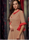 Cotton Readymade Classic Gown For Festival - 2