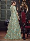 Net Trendy Long Length Anarkali Suit For Festival - 1