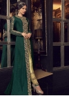 Embroidered Work Jacket Style Long Length Suit - 2
