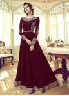 Faux Georgette Jacket Style Long Length Suit - 1