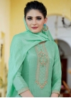 Palazzo Style Pakistani Salwar Kameez For Festival - 1