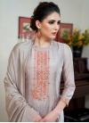 Cotton Silk Palazzo Style Pakistani Salwar Suit - 1