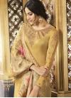 Embroidered Work Satin Silk Trendy Pakistani Salwar Suit - 2