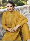 Faux Georgette Pant Style Pakistani Salwar Suit For Ceremonial - 2