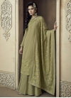 Palazzo Straight Salwar Suit For Ceremonial - 1