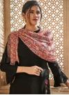 Embroidered Work Art Silk Palazzo Style Pakistani Salwar Suit - 1