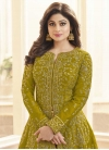 Silk Long Length Trendy Salwar Suit - 1