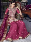 Embroidered Work Sharara Salwar Kameez - 2
