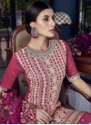 Embroidered Work Sharara Salwar Kameez - 1